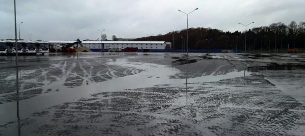 Автомобильный парк г. Сочи Асфальтирование, устройство проездов