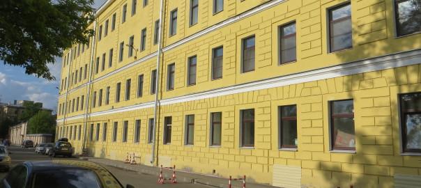 Ремонт офисного здания Державинский пер